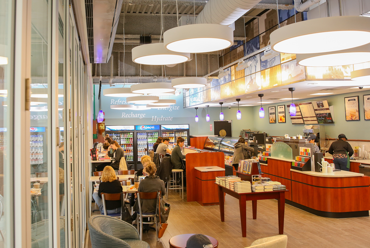 Barnes and Noble Café - Tricarico Architecture and Design